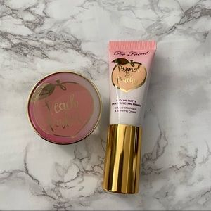 Too faced travel size primer and setting powder